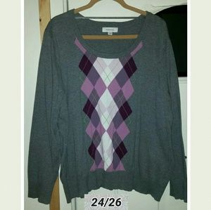 Size 24/26 3x sweater